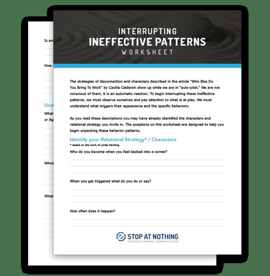 inneffective-patterns-worksheet